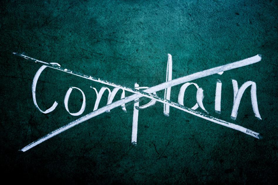 habit of complaining